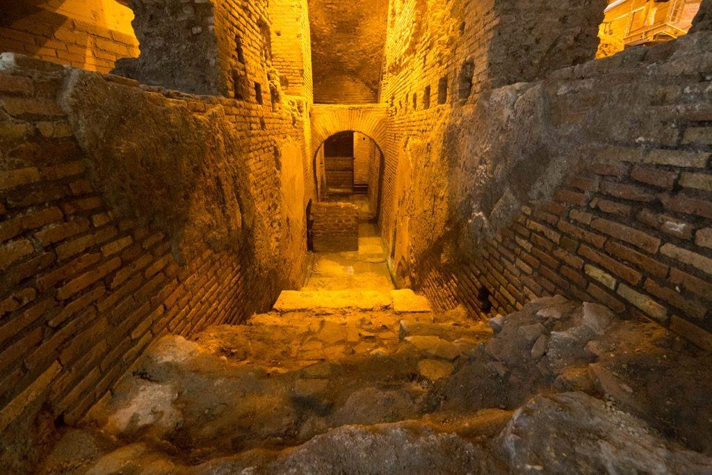 Area archeologica sotterranea Vicus