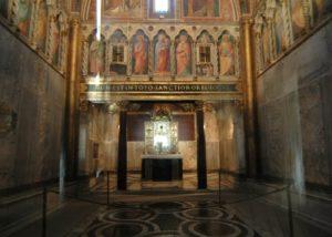 sancta Sanctorum sotterranei Visite Guidate Archeodomani