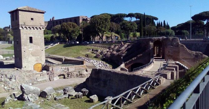Area Archeologica Circo Massimo Torre della Moletta visite guidate roma archeodomani