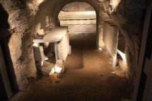 sepolcro scipioni sotterranei Visite Guidate Archeodomani