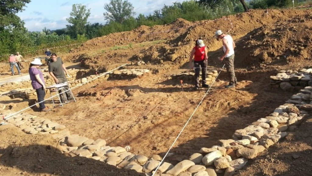 Scavo Archeologico Domo 2015 Bibbiena Archeodomani