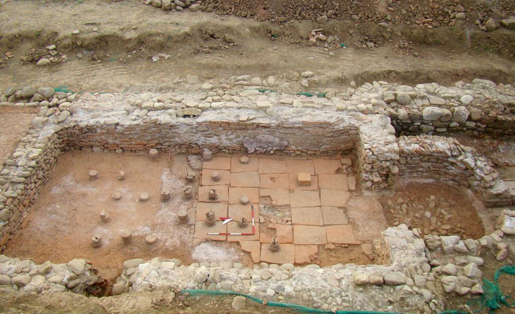 scavo archeologico Domo Bibbiena Arezzo