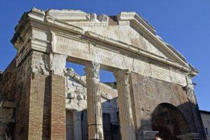 Il Portico d'Ottavia e il Teatro di Marcello