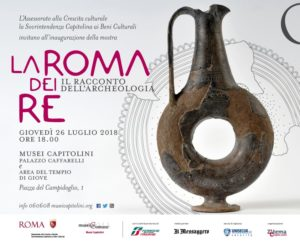 """Mostra """"La Roma dei Re. Il racconto dell'Archeologia"""""""